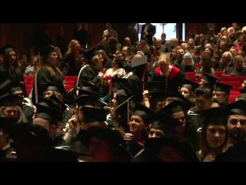 McGill University Fall Convocation AM Ceremony