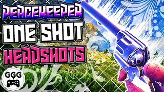 Battlefield 1: NEW Peacekeeper Can 1 Shot Headshot (BF1 Easter Egg Weapon)
