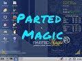 Linux Parted Magic  - test