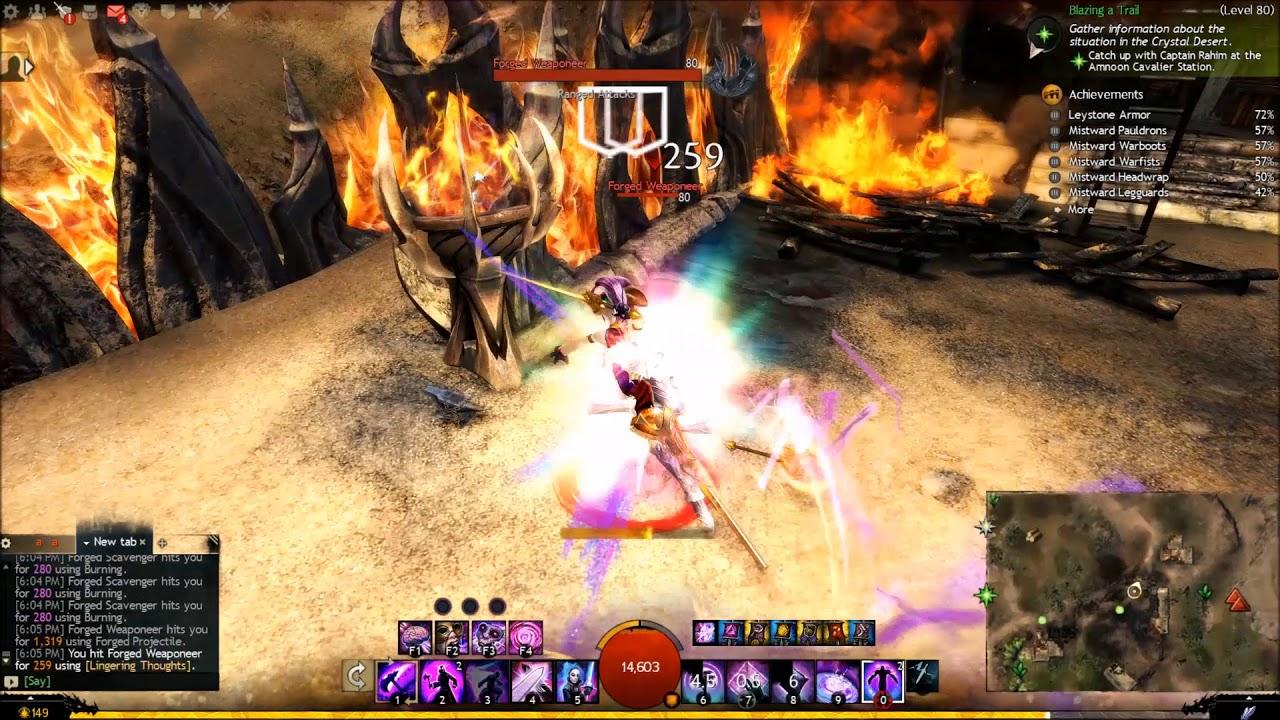 Guild Wars  Pve Build Mesmer