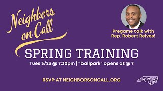 Rep. Robert Reives speaks to Neighbors on Call 3/23/21