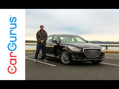 2017 Genesis G90 CarGurus Test Drive Review