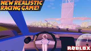 There's A New Racing Game and It's SUPER REALISTIC! (Roblox Plaza 2)