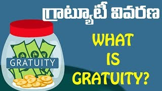 What Is Gratuity ? || How to calculate gratuity In Telugu || Gratuity Act || Eyetv Entertainments