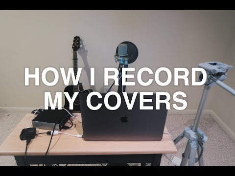 How I Record My Covers | vlog