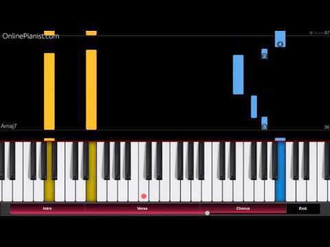 Angel Beats  My Soul, Your Beats!  Easy Piano Tutorial  How to Play  エンジェルビーツ!