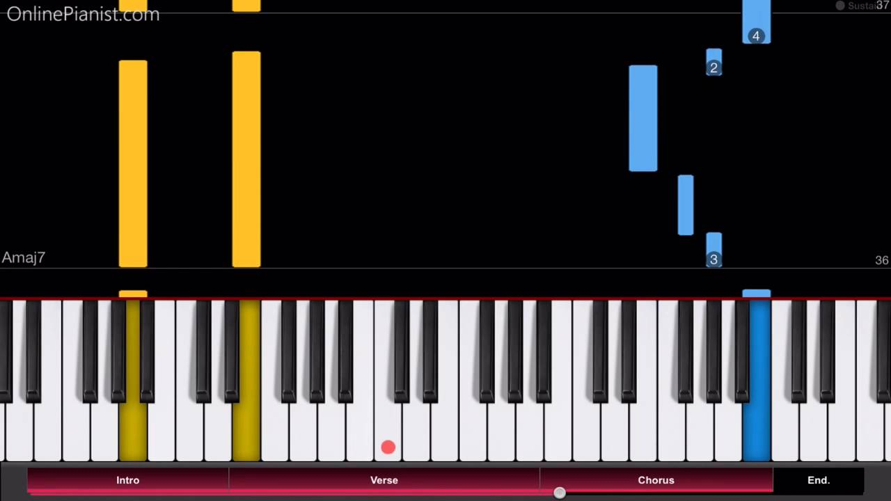 Angel Beats - My Soul, Your Beats! - Easy Piano Tutorial - How to Play -  エンジェルビーツ!
