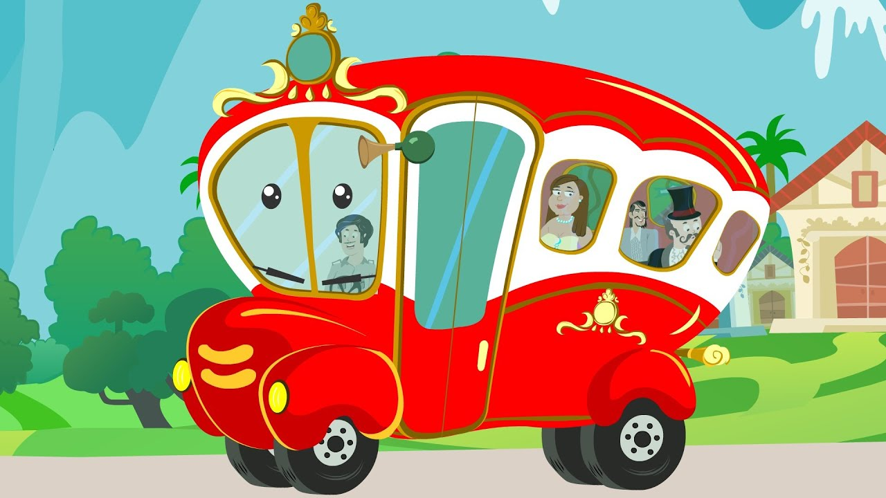 Wheels On The Bus  Kindergarten Nursery Rhymes For -4942