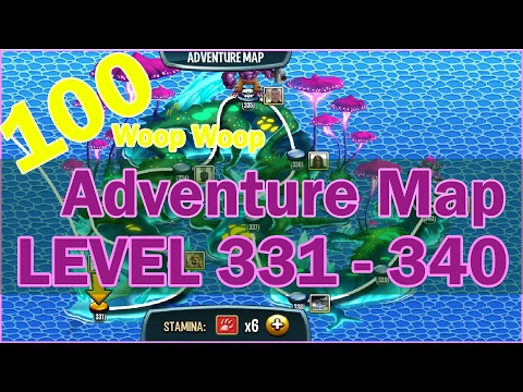 Monster Legends - Adventure Map 331 to 340 (Level 100)