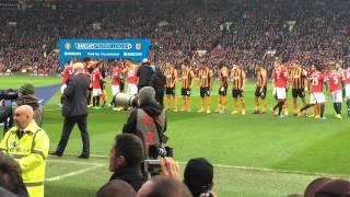 Man Utd V Hull City 29/11/2014