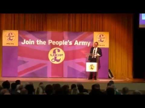 Blair Smillie at UKIP North West Conference