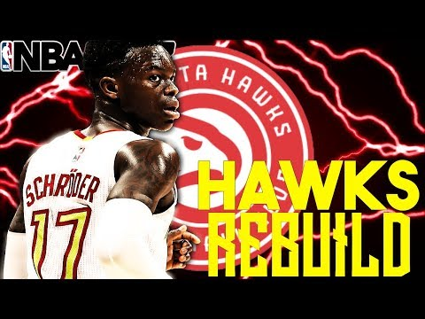 TRADING THE WHOLE TEAM?!?! REBUILDING THE ATLANTA HAWKS!! NBA 2K18 MY LEAGUE