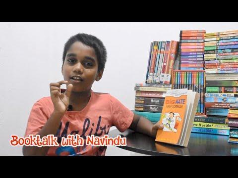 Booktalk With Navindu - Episode 06 - Big Nate Super Scribbler By Lincoln Peirce