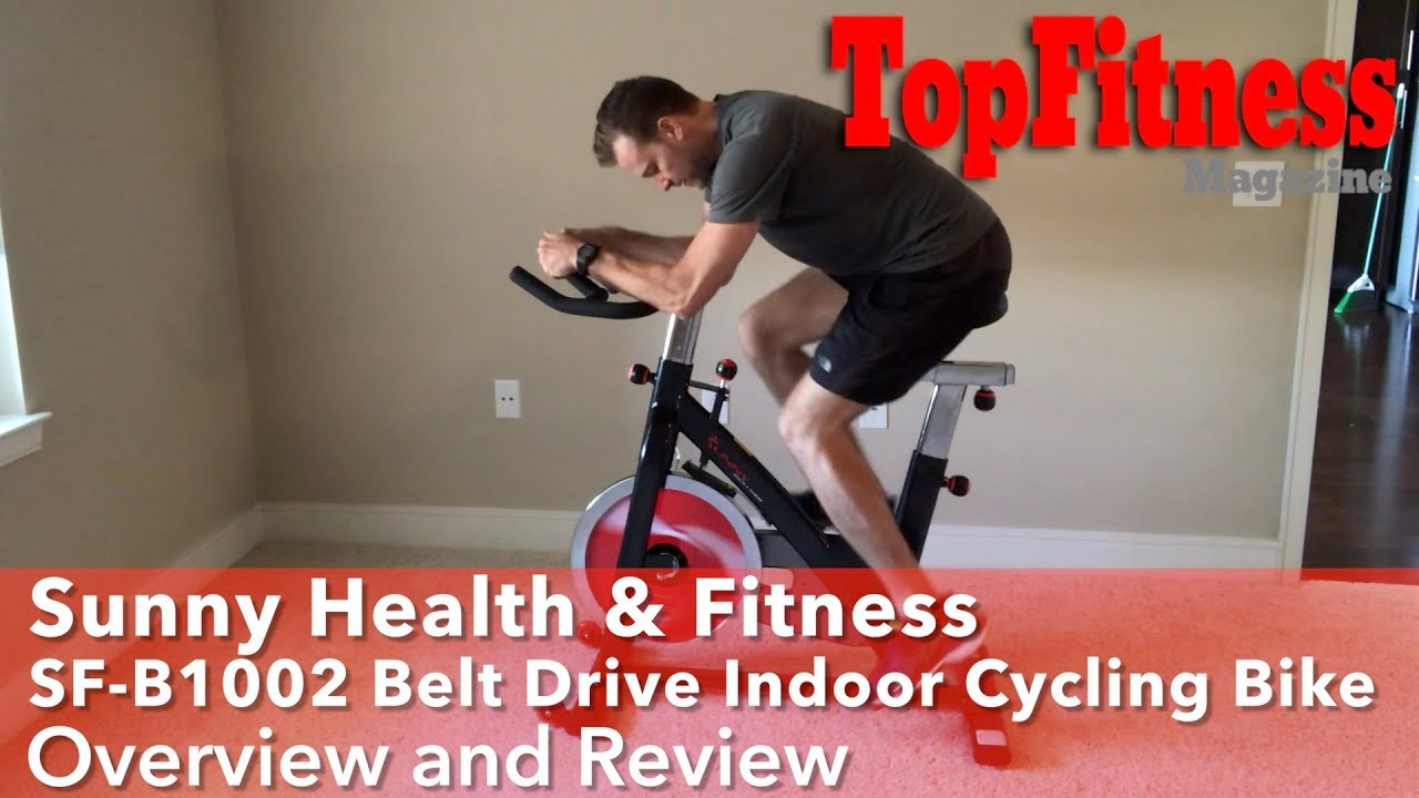 Sunny Health & Fitness  SF B1002 Cycling Bike Overview and Review