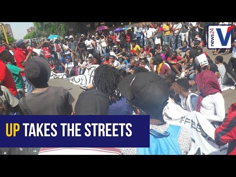 WATCH: University of Pretoria students occupy the streets