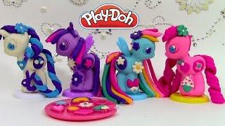 Pâte à modeler Play Doh My Little Pony Make N Style Ponies Mon petit poney à décorer