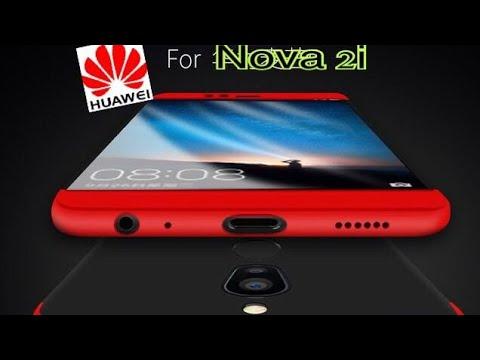 newest bf6b0 88761 Huawei Nova 2i case 360 armor protect lens camera