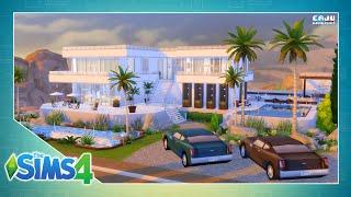 The Sims 4: MANSÃO MODERNA 50x50 - 3Qts. | Speed Build