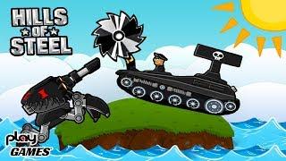 Битва в ПУСТЫНЕ! Танковое сражение в мульт игре HILLS of STEEL веселая игра про танки онлайн