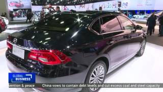 Chinese carmaker hopes be a hit at the Detroit Auto Show