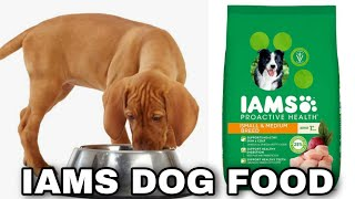 Is IAMS Dog Food Good? || IAMS Dog Food || Happypet