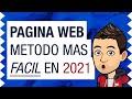 Como Crear Una Pagina Web RAPIDO Y FACIL! [2020 - Paso a Paso] ⚡️