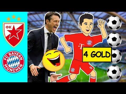 Funny Soccer Football Vines 2019 ● Bayern Munich vs Crvena Zvezda ● Match Report & Highlights