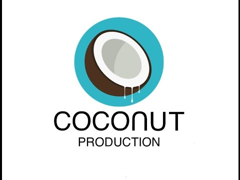 Coconut production/ in action