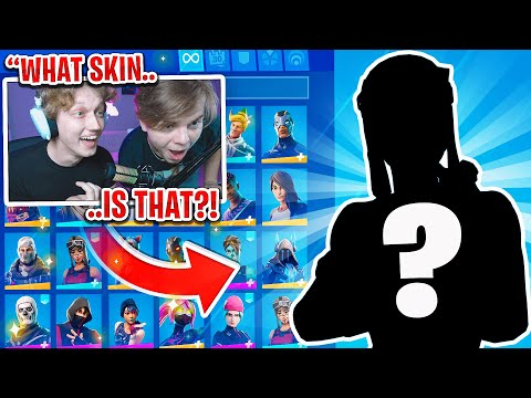 Guessing Fortnite skins by ONLY their Shadow! (rarest skins)
