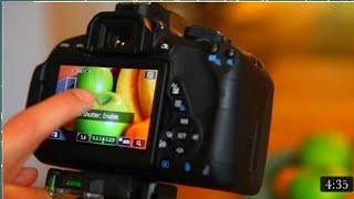 Canon 700d me blur  video