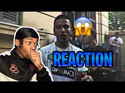 DARK POLO GANG - CAVALLINI FT SFERA EBBASTA (Prod. Charlie Charles) (REACTION VIDEO) #italydrill