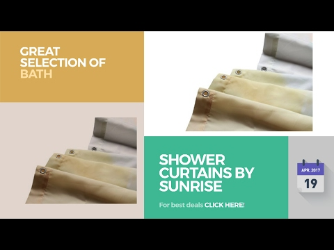 Shower Curtains By Sunrise Great Selection Of Bath Products