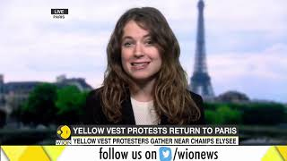 Yellow vest protests return to France