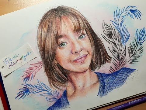 Angelina Danilova drawing (by Elena Martynyuk)