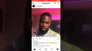 GHETTS SHOWING NEW MUSIC FT GRIMINAL! (Deleted clip)