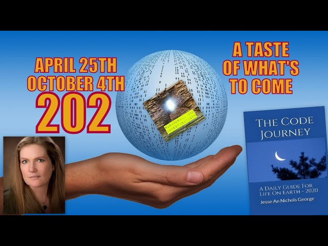 Global Predictions April 25th - October 4th 2020. A taste of things to come. Jesse An Nichols George