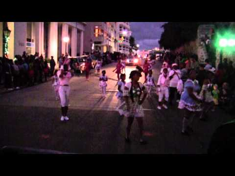 Miss Teen - No Limit Dance - Miss Big & Beautiful At Santa Parade Hamilton Bermuda November 27 2011