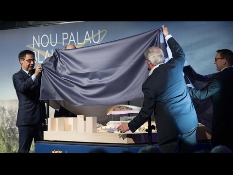 Presentation of the New Palau Blaugrana