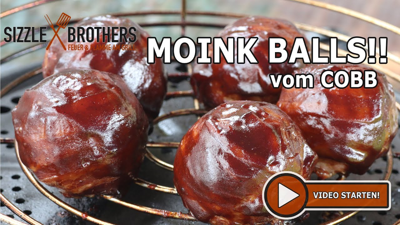 Cobb Gasgrill Pulled Pork : Moink balls geiles zeug vom cobb grill youtube