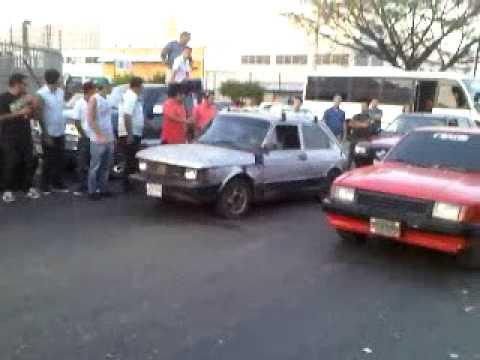 "Fiat-Tucan Vs Chevette Piques Zona Industrial ""San Miguel"" Valencia edo-carabobo"
