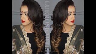 Indian/Bollywood/South Asian Bridal Fishtail - Start to finish @blueroseartisry