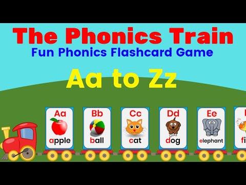 Free Phonics Games For Kids The Phonics Train Game Games4esl