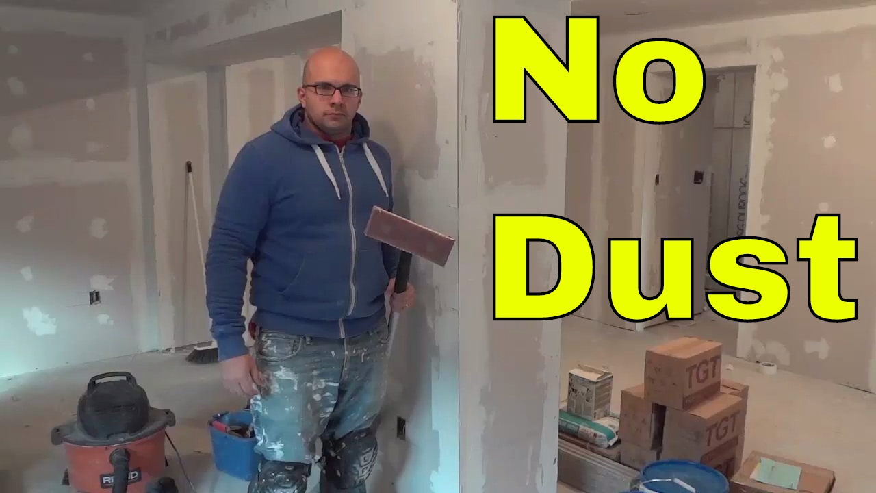 richard vac pole review sand drywall without dust youtube. Black Bedroom Furniture Sets. Home Design Ideas