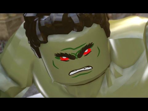 LEGO Marvel's Avengers 100% Guide - Chapter 9: Anger Management (All Minikits, Red Brick)