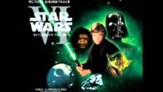 Star Wars VI Return of The Jedi Soundtrack - The Lightsaber-The Ewok Battle