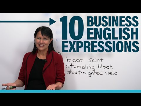Upgrade Your English: 10 Advanced Business Expressions