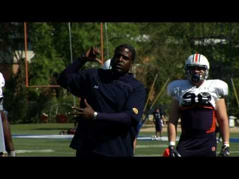 AU Football: Every Day... Coach Rocker Mentors Nick Fairley