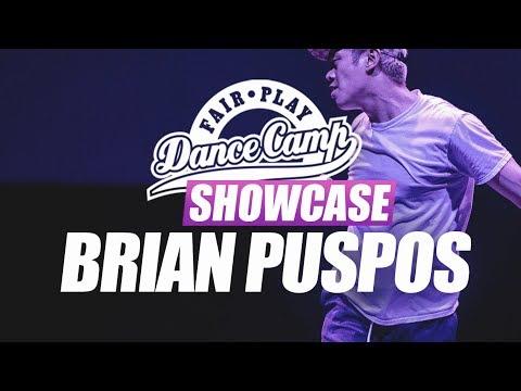 Brian Puspos ▶︎ Fair Play Dance Camp SHOWCASE 2017