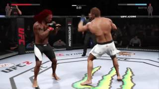 EA Sport UFC 2. The road becoming a champ