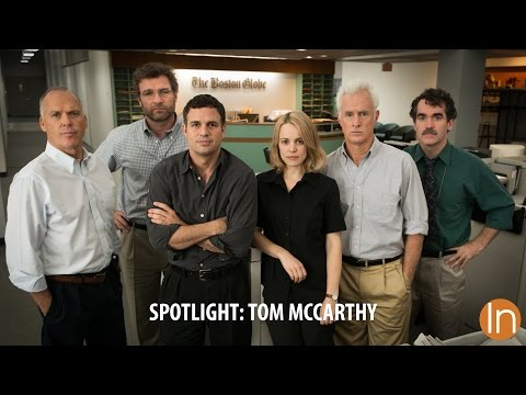 Spotlight Interview - Director Tom McCarthy